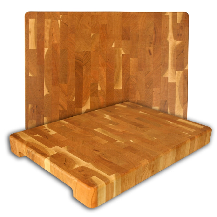 Catskill Craftsmen 16.25-in L x 12-in W Wood Cutting Board