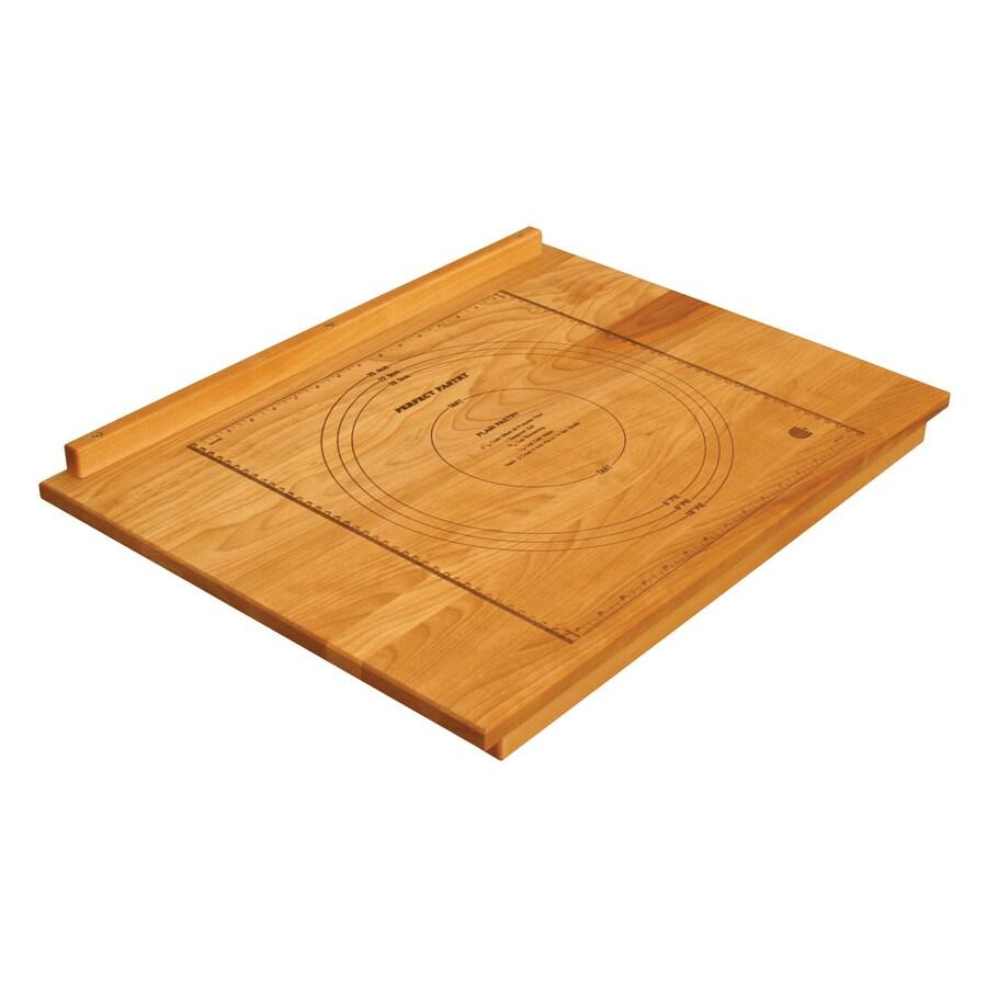 Catskill Craftsmen 24-in L x 18-in W Wood Cutting Board