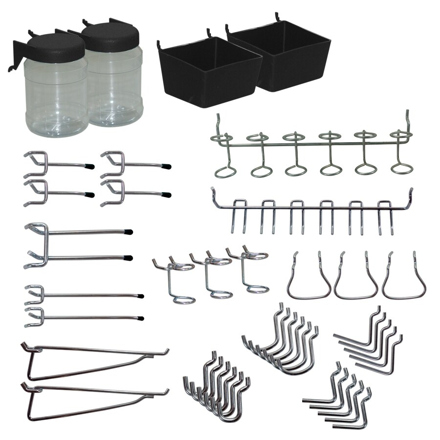 Blue Hawk 43-Pack Steel Assorted Pegboard Hooks