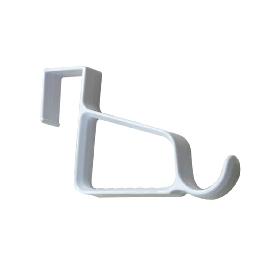 Style Selections White Over Door Valet Hook