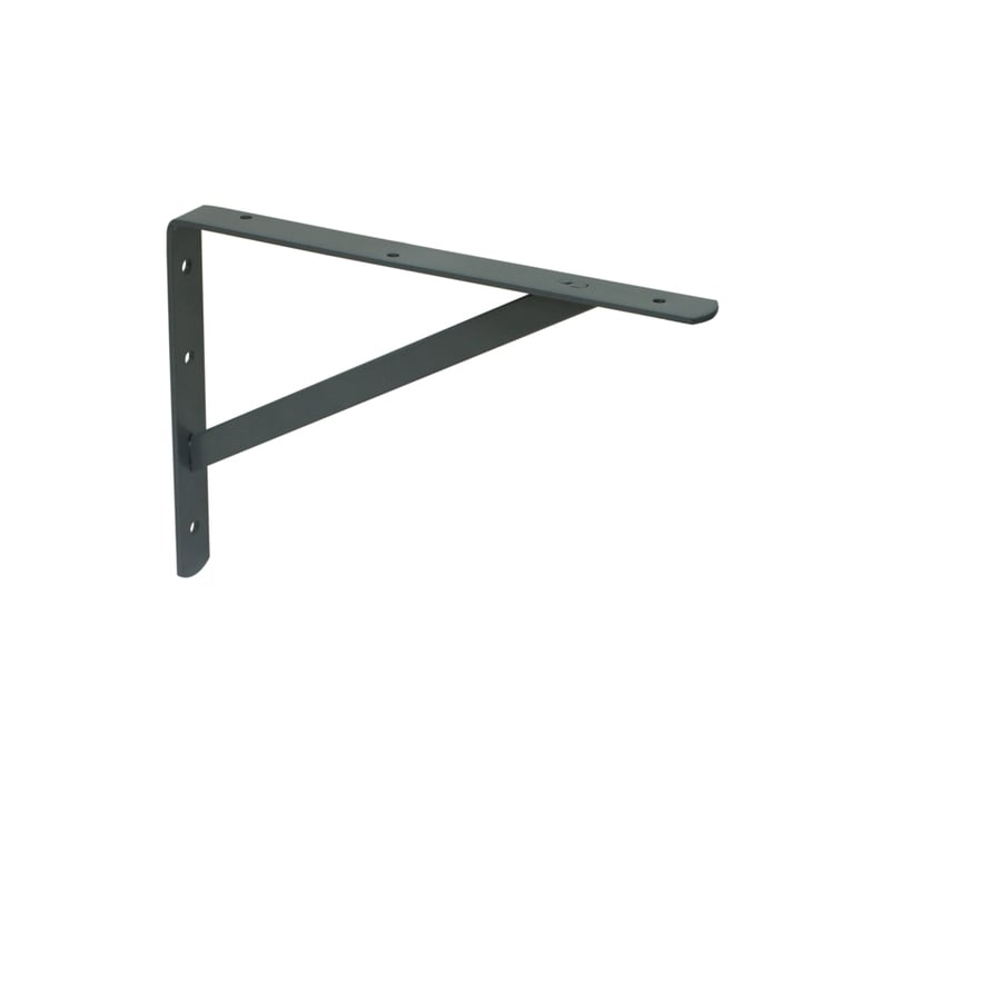 Blue Hawk Steel 1.16-in W x 13-in L x 19.5-in D Gray Shelf Bracket