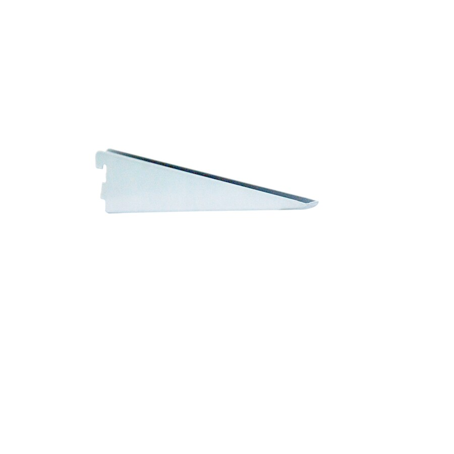 """Style Selections 18-1/4"""" White Double Track Bracket"""
