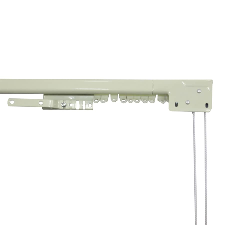 ... Source 48-in to 84-in White Steel Traverse Curtain Rod at Lowes.com