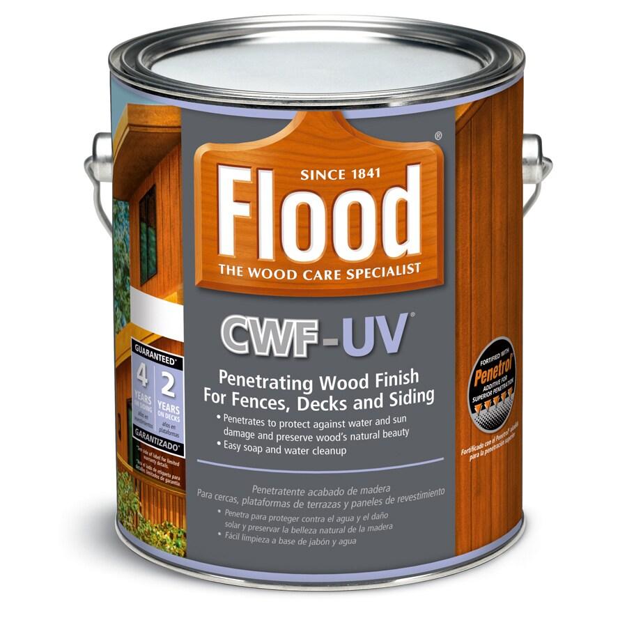 Flood CWF-UV Pre-Tinted Cedar Toner Exterior Stain (Actual Net Contents: 128-fl oz)