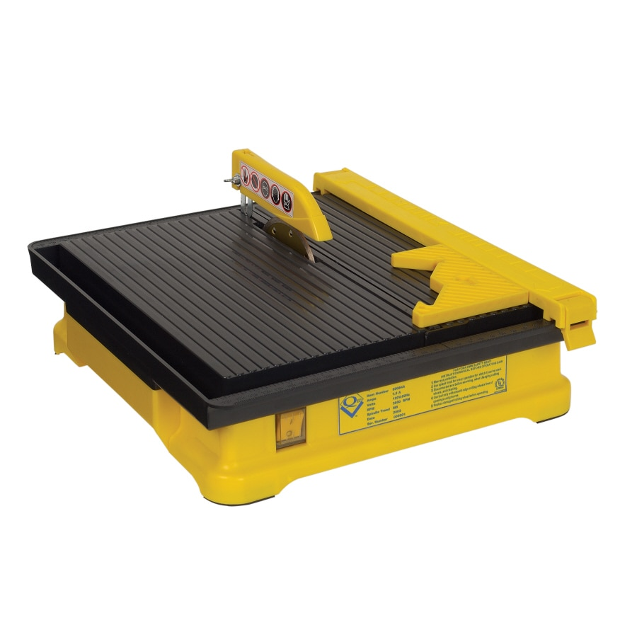 Q.E.P. 4-in 0.33-HP Wet Tile Saw