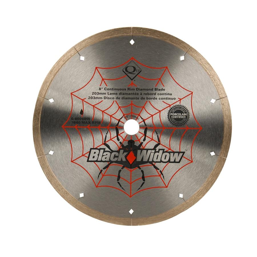 Black Widow 8-in Wet Continuous Diamond Circular Saw Blade