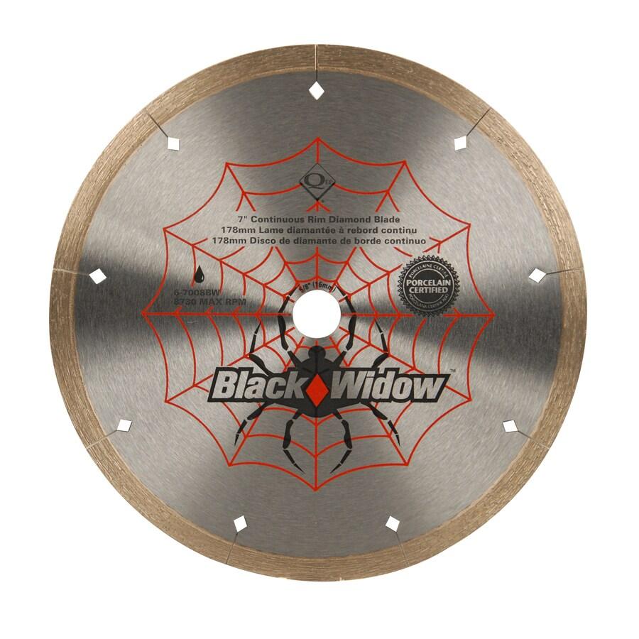 Black Widow 7-in Wet Continuous Diamond Circular Saw Blade