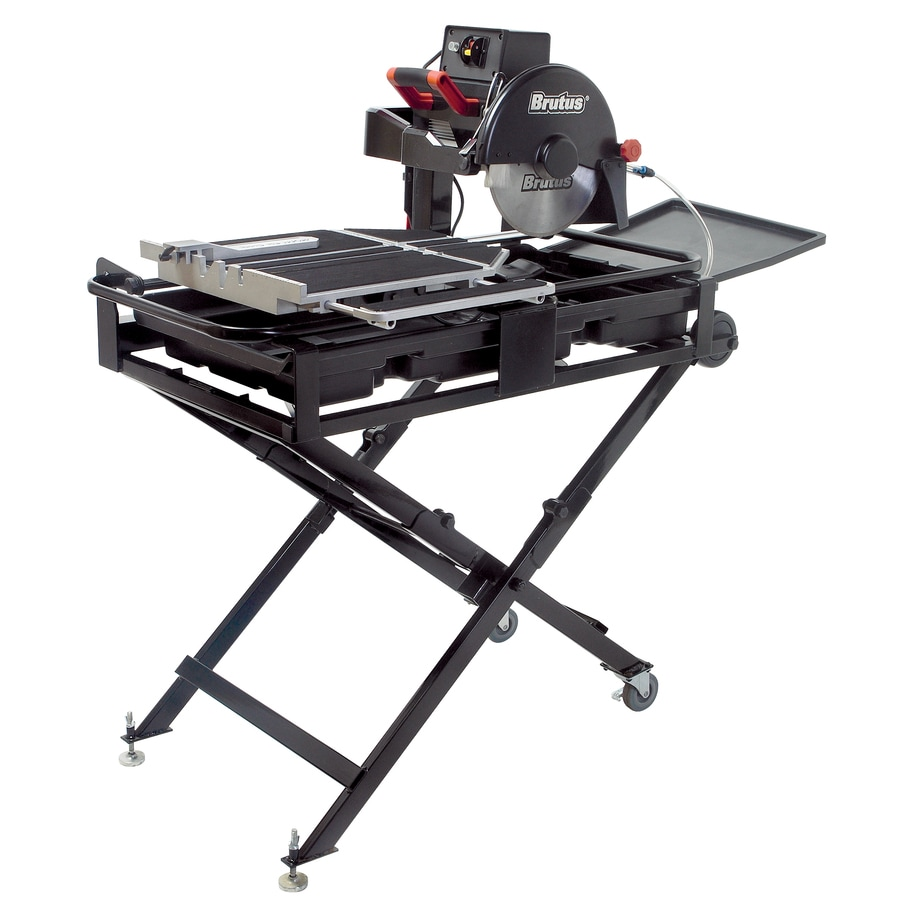 Shop Brutus 10 In 1 5 Wet Bridge Sliding Table Tile Saw