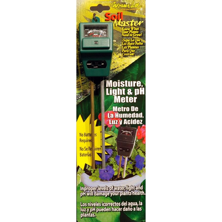 Mosser Lee Soil Master Moisture Light & PH Meter