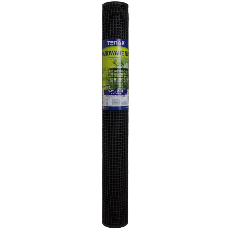 Blue Hawk Hardware Black HDPE Extruded Mesh (Common: 15-ft x 3-ft; Actual: 15-ft x 3-ft)