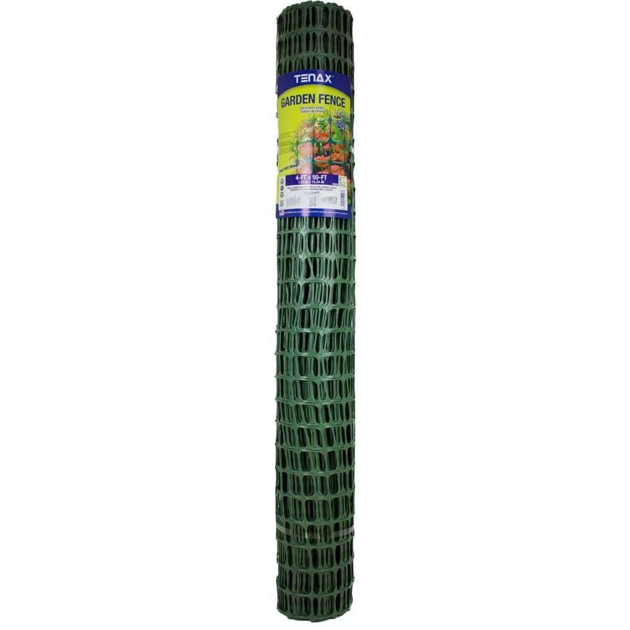 Tenax 4ft x 50ft Green Plastic Home Fence