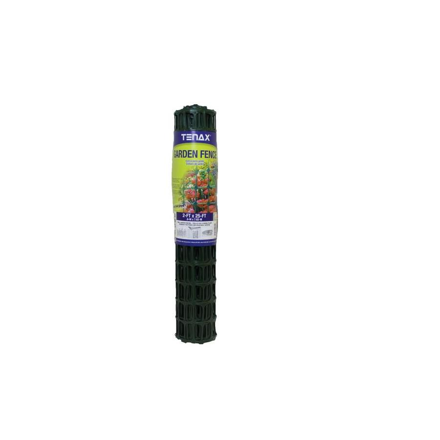 Blue Hawk Garden Green HDPE Extruded Mesh (Common: 25-ft x 2-ft; Actual: 25-ft x 2-ft)