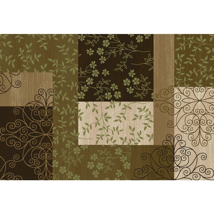 Style Selections Rectangular Indoor Tufted Area Rug (Common: 4 x 6; Actual: 48-in W x 72-in L)
