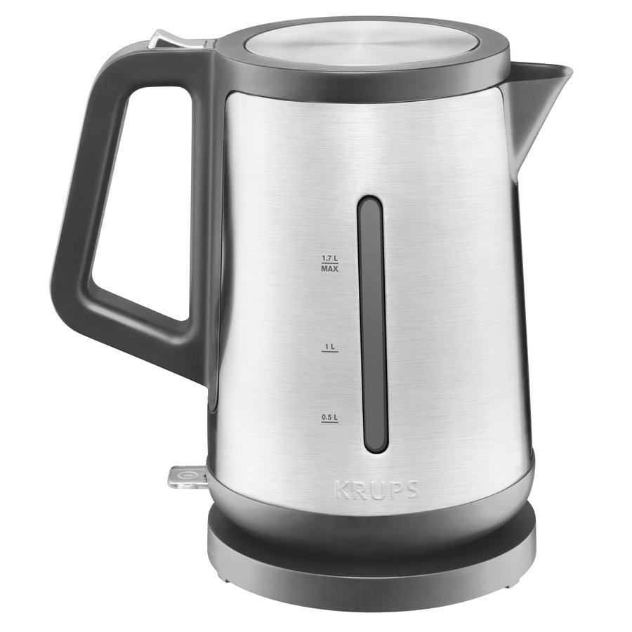 Shop krups stainless steel 7 cup electric tea kettle at - Cup stainless steel teapot ...