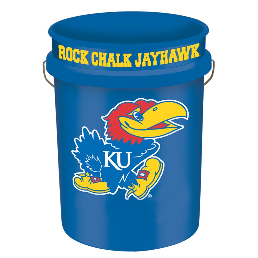 WinCraft Sports Kansas 5-Gallon Plastic Bucket