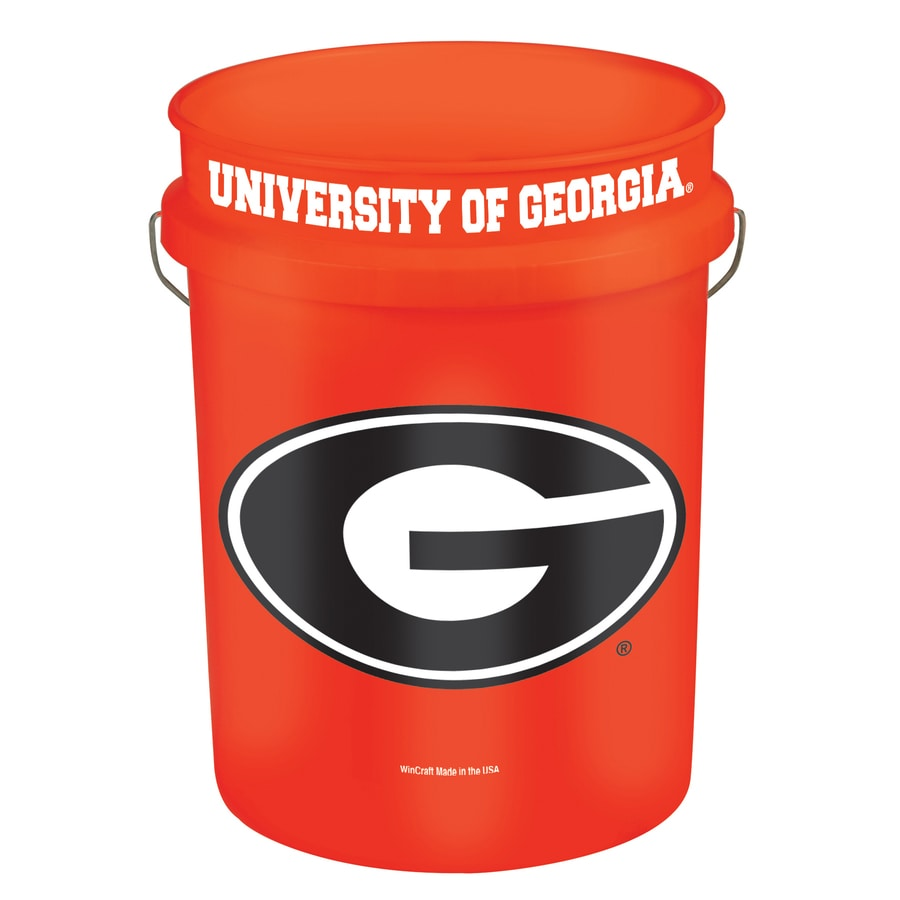 WinCraft Sports Georgia 5-Gallon Plastic Bucket