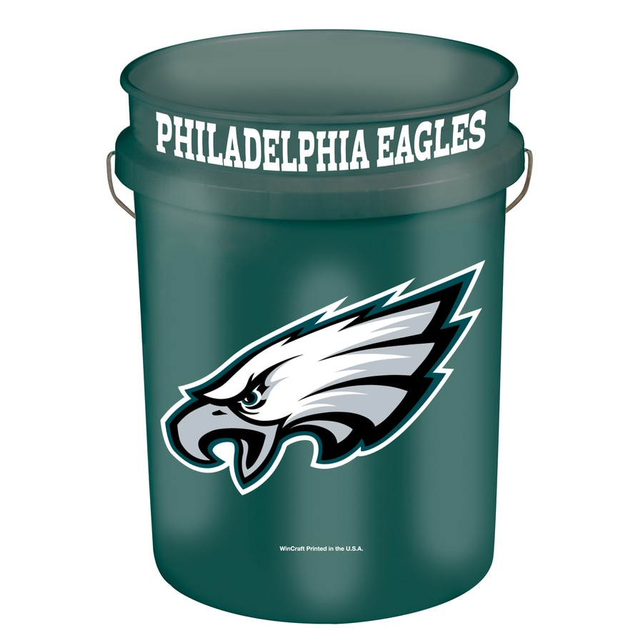 WinCraft Sports Philadelphia Eagles 5-Gallon Plastic Bucket
