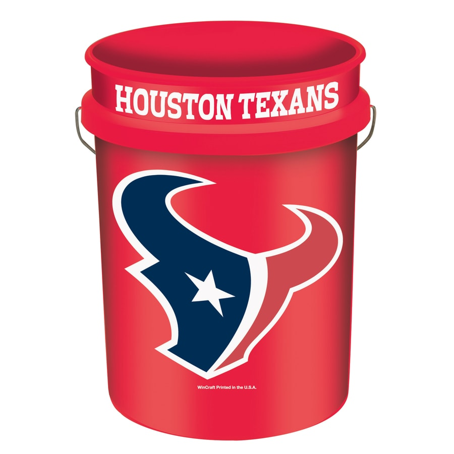 WinCraft Sports Houston Texans 5-Gallon Plastic Bucket