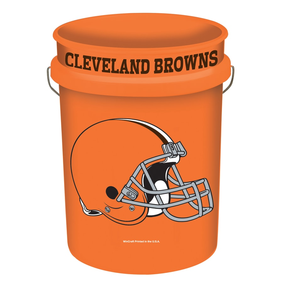 WinCraft Sports Cleveland Browns 5-Gallon Plastic Bucket