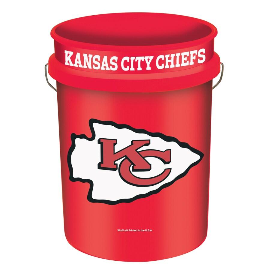 WinCraft Sports Kansas City Chiefs 5-Gallon Plastic Bucket