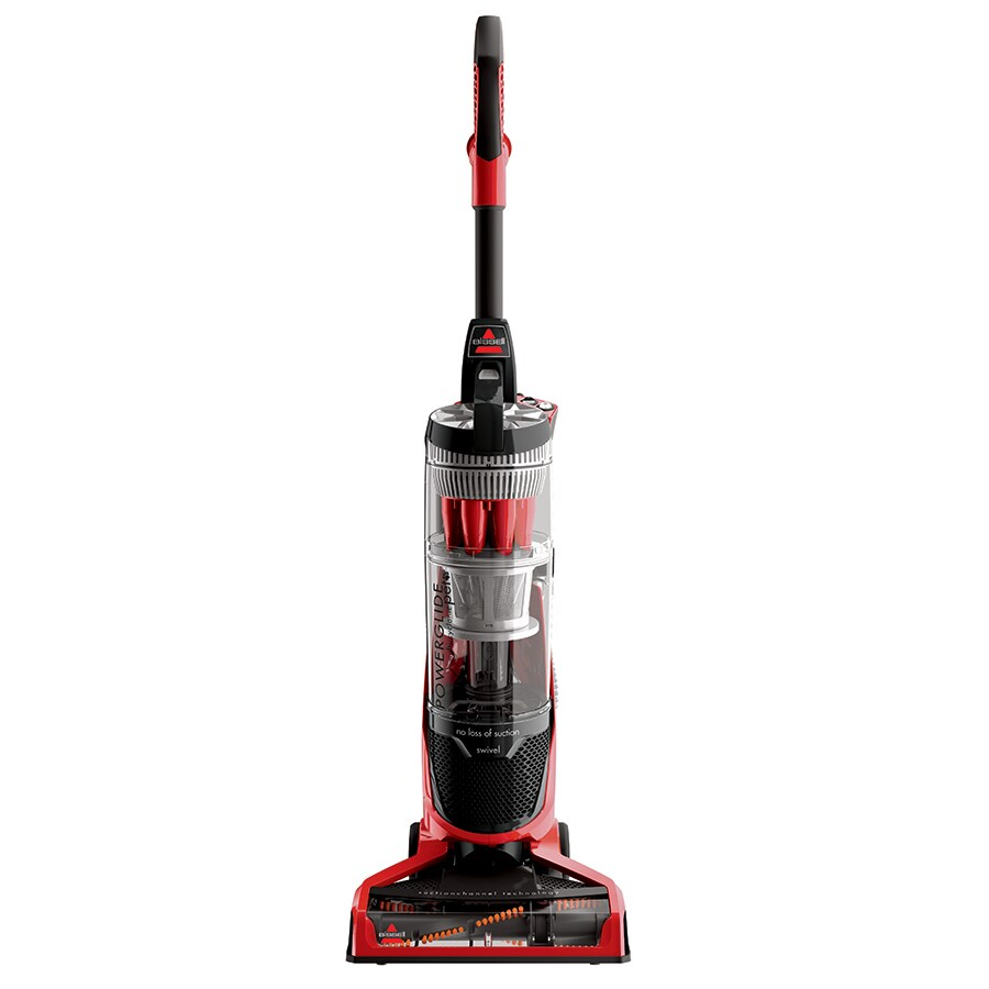 shop bissell powerglide pet bagless upright vacuum at