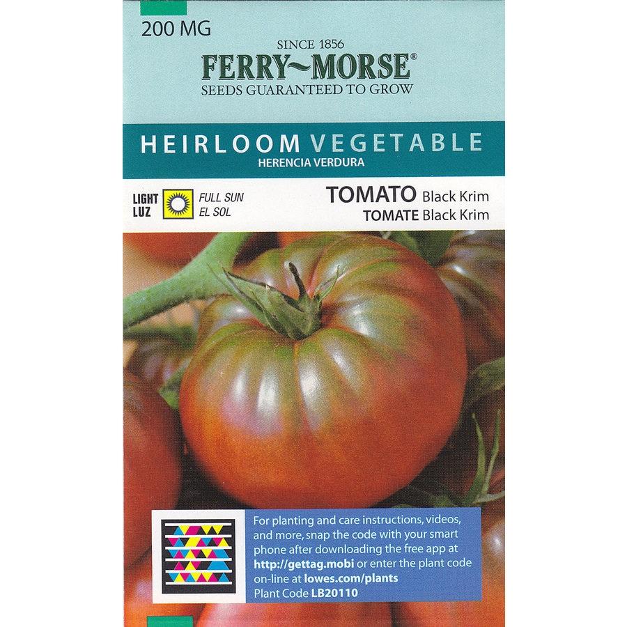 Ferry-Morse Tomato Black Krim Vegetable Seed Packet
