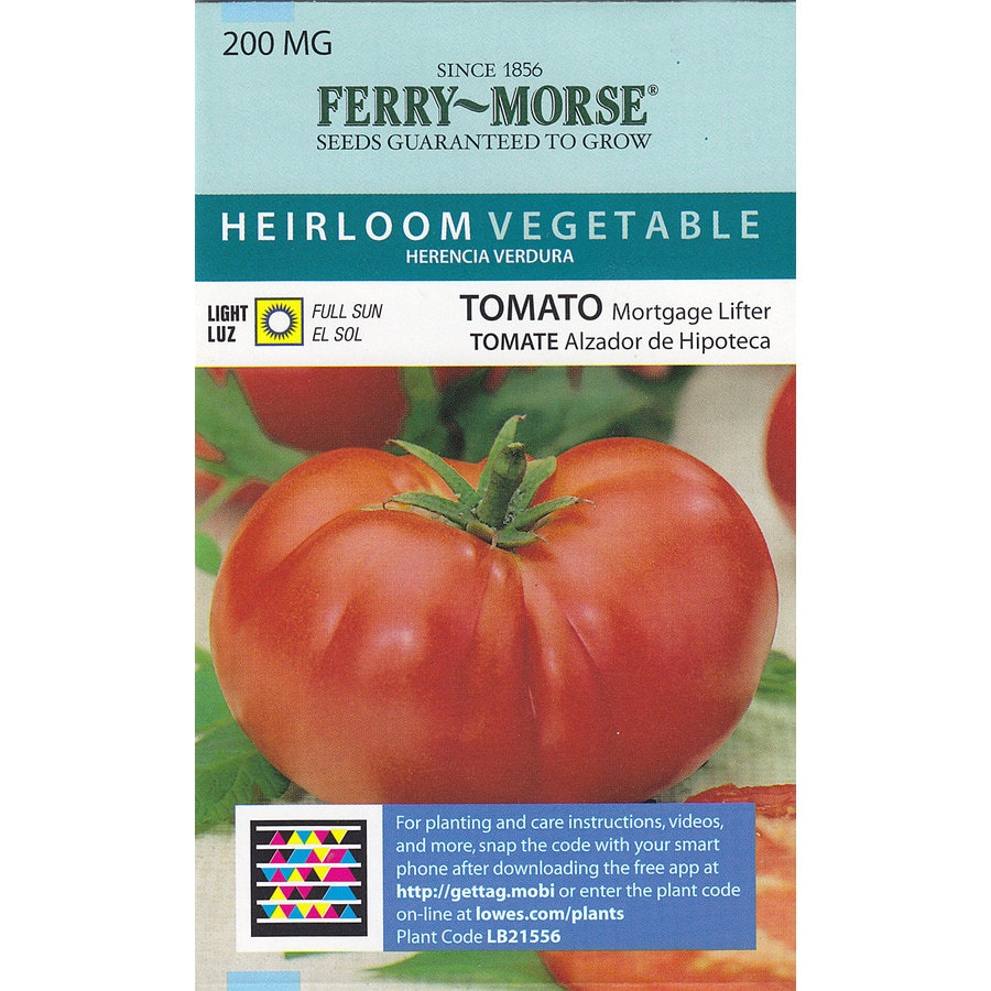 Ferry-Morse Tomato Mortgage Lifter Vegetable Seed Packet