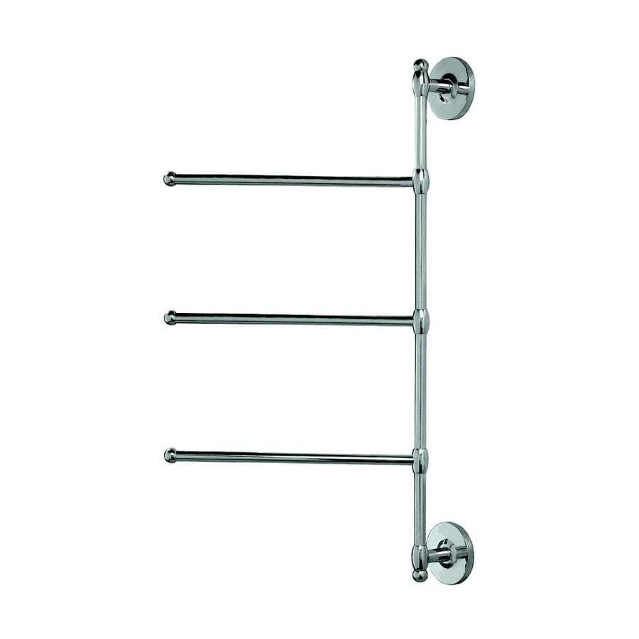 Gatco Chrome Triple Towel Bar (Common: 26-in; Actual: 26.5-in)