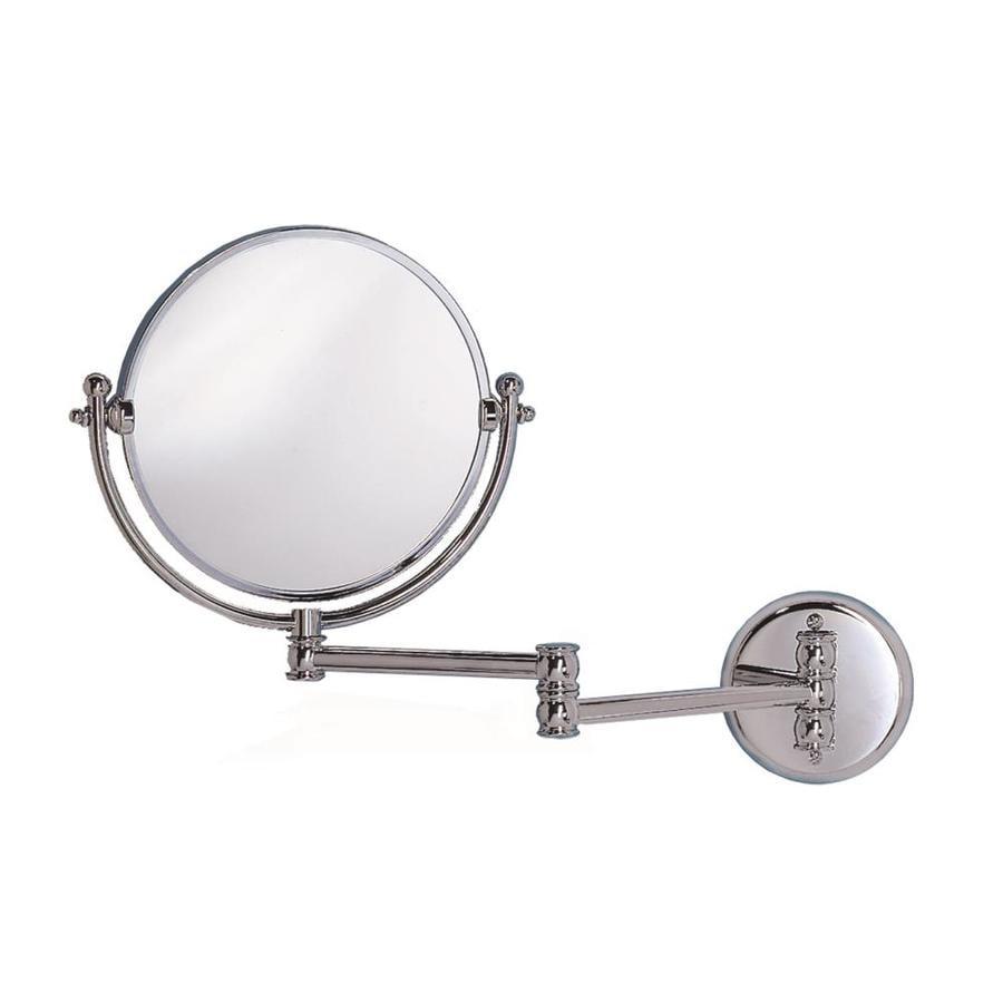 Gatco Chrome Brass Wall-Mounted Vanity Mirror