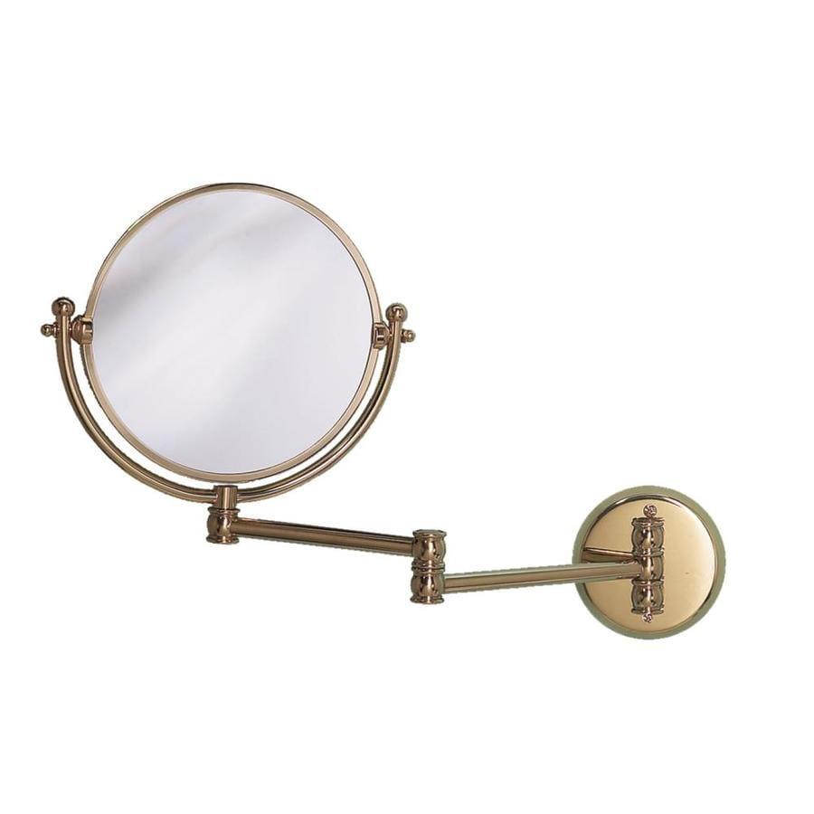 Gatco Brass Wall-Mounted Vanity Mirror