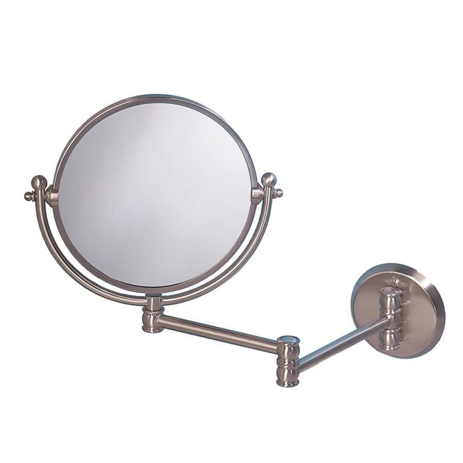 Gatco Nickel Brass Wall-Mounted Vanity Mirror