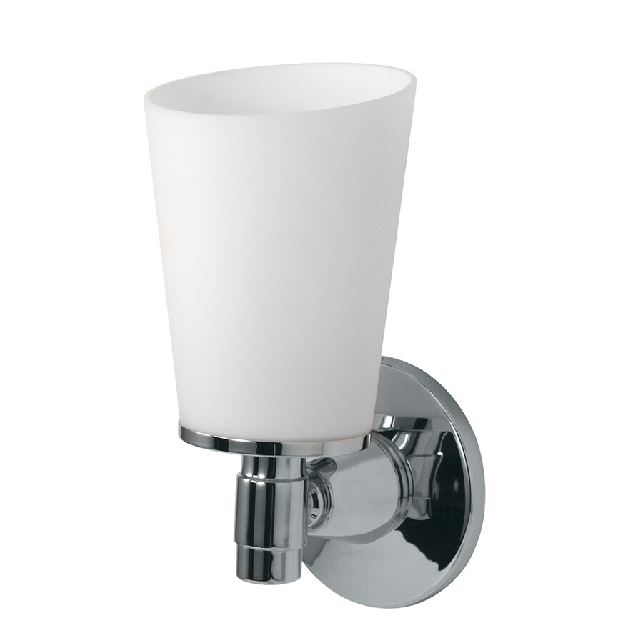 Gatco Max 4.5-in W 1-Light Chrome Arm Hardwired Wall Sconce