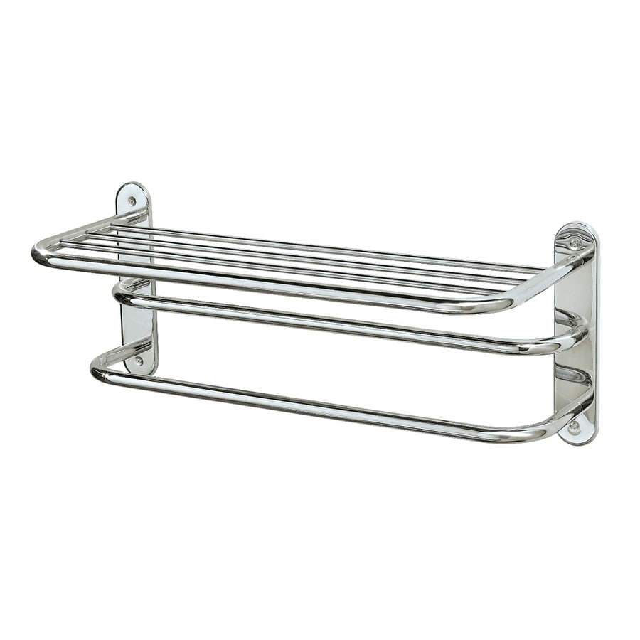 Gatco Essentials Chrome Metal Towel Rack