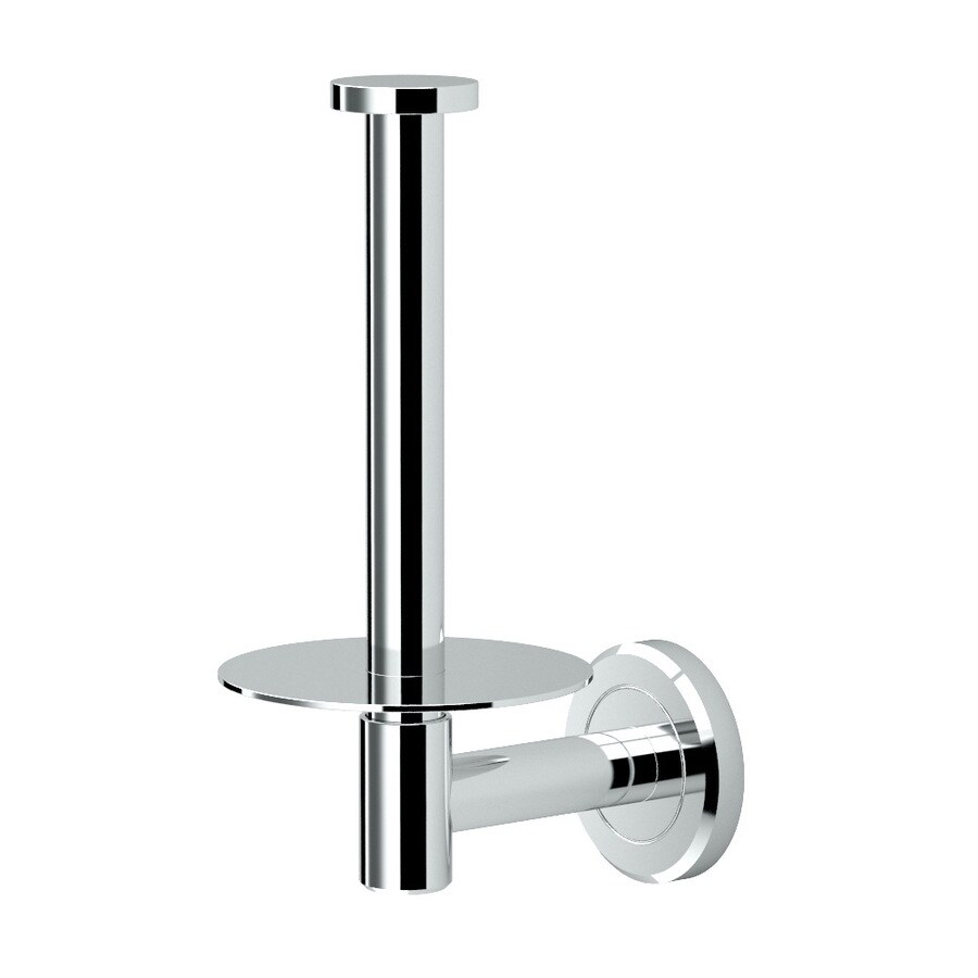 Gatco Latitude 2 Chrome Surface Mount Single Post with Arm Toilet Paper Holder