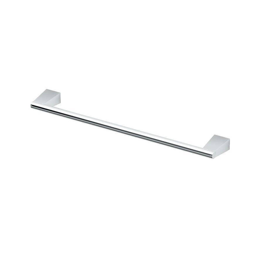 Gatco Bleu Chrome Single Towel Bar (Common: 18-in; Actual: 19.5-in)
