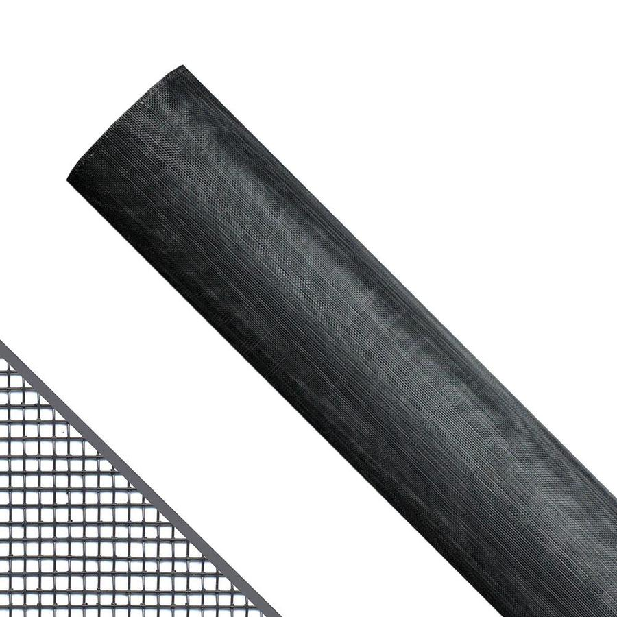 New York Wire 34-in x 100-ft Charcoal Aluminum Screen Wire