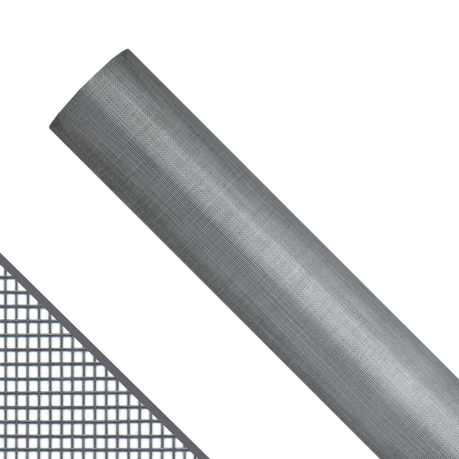 New York Wire 60-in x 100-ft Gray Fiberglass Screen Wire
