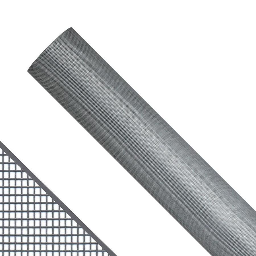 New York Wire 72-in x 100-ft Gray Fiberglass Screen Wire
