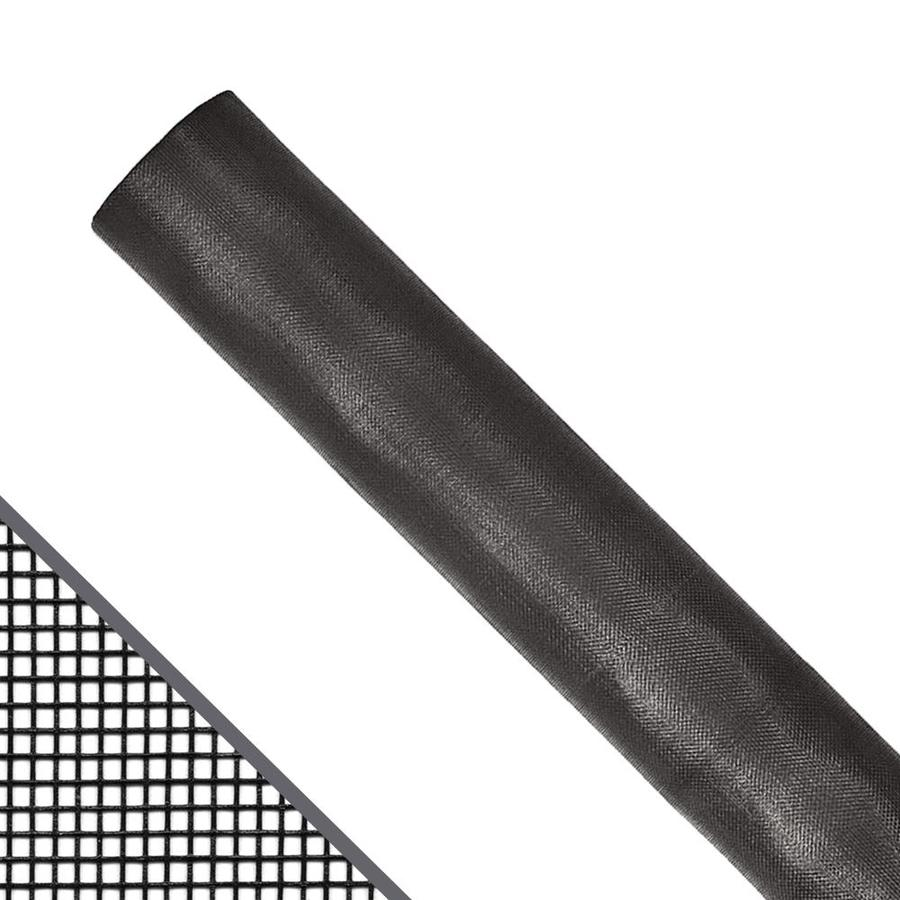 New York Wire 30-in x 100-ft Charcoal Fiberglass Screen Wire