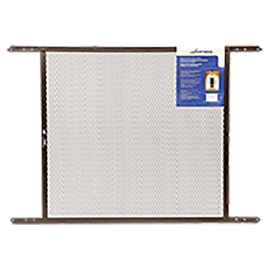 Shop new york wire door grill brown mesh at for New screen door