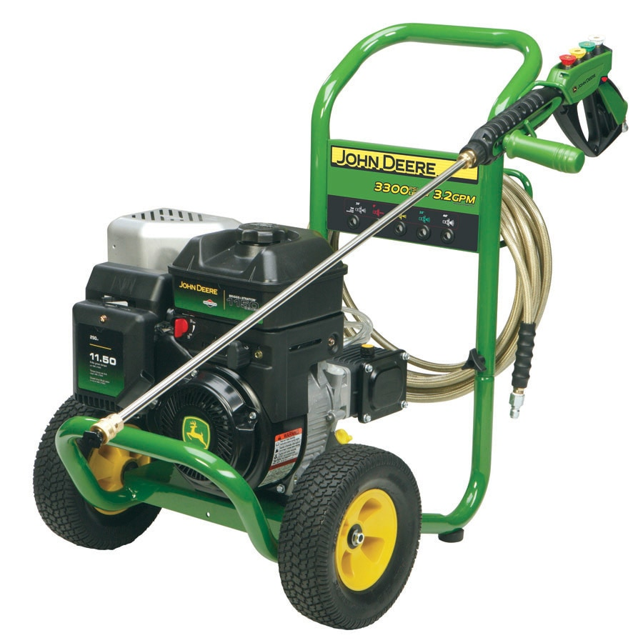 Shop John Deere 3300 Psi 3 2 Gpm Gas Pressure Washer At