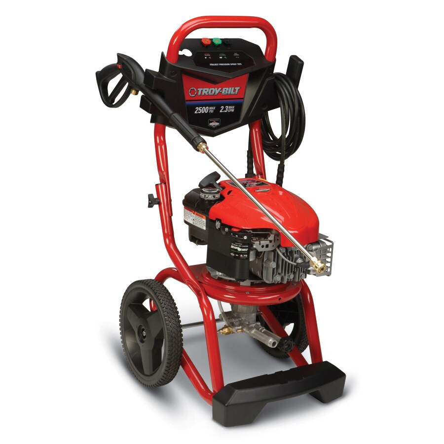 Troy-Bilt 2500 PSI 2.3 GPM Gas Pressure Washer