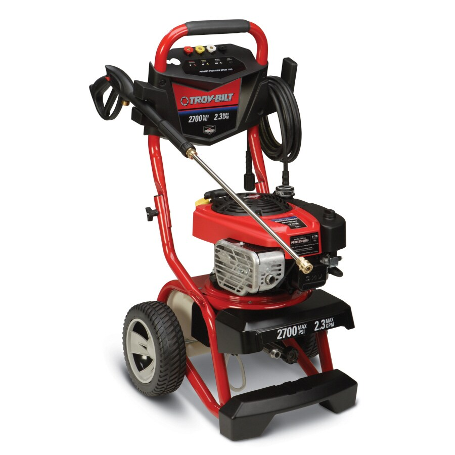 Troy-Bilt 2700-PSI 2.3-GPM Water Gas Pressure Washer