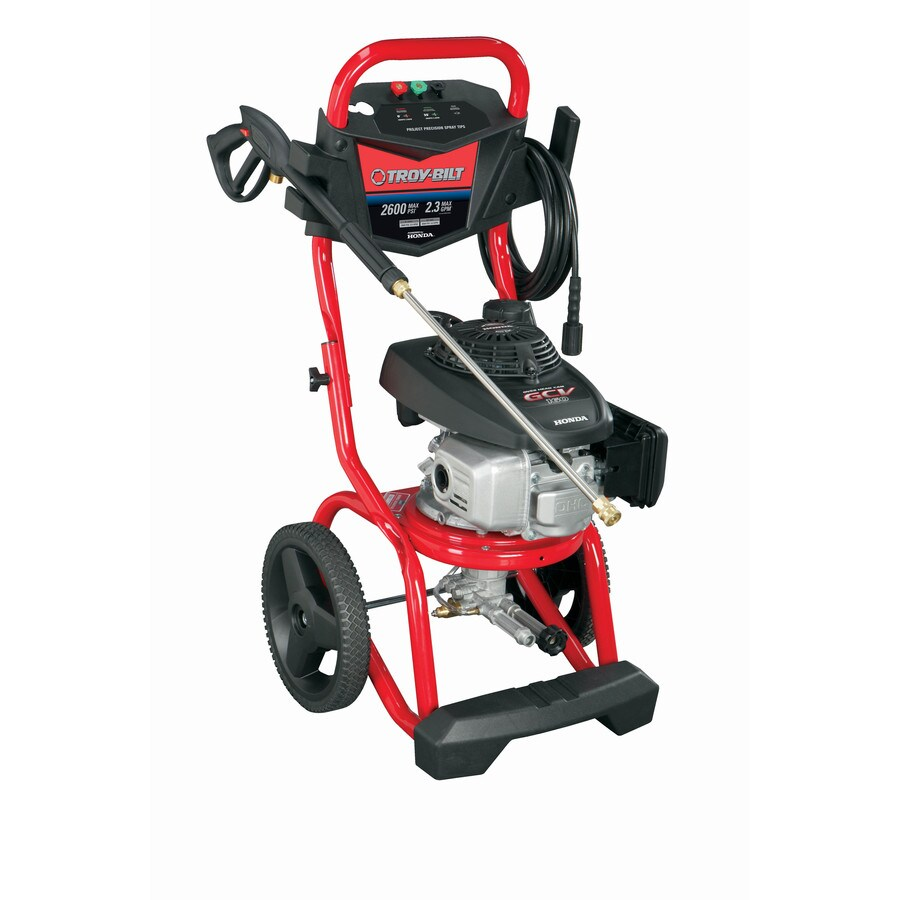 Troy-Bilt 2600-PSI 2.3-GPM Carb Compliant Cold Water Gas Pressure Washer