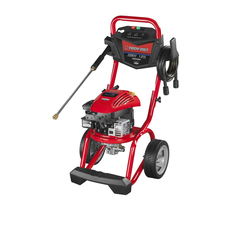 Troy-Bilt 2200-PSI 1.8-GPM Water Gas Pressure Washer