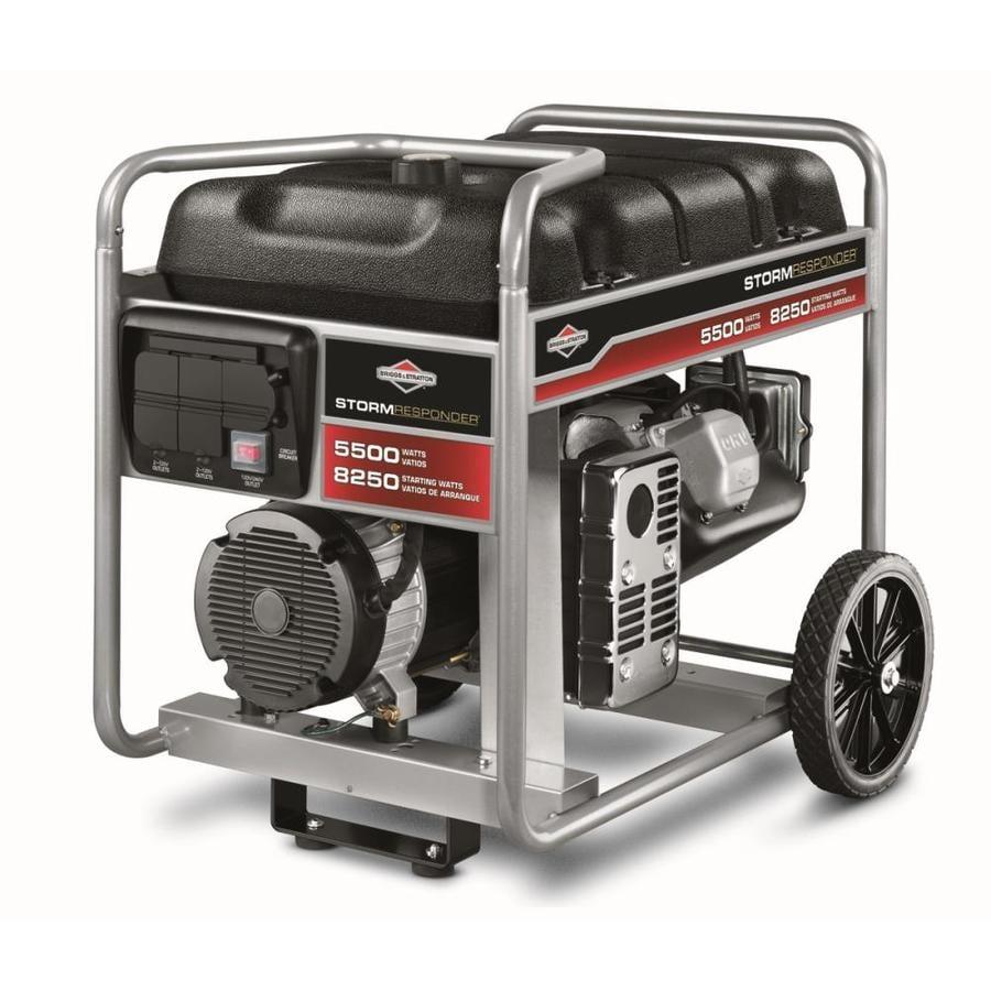 Briggs & Stratton 5500-Running Watts Portable Generator