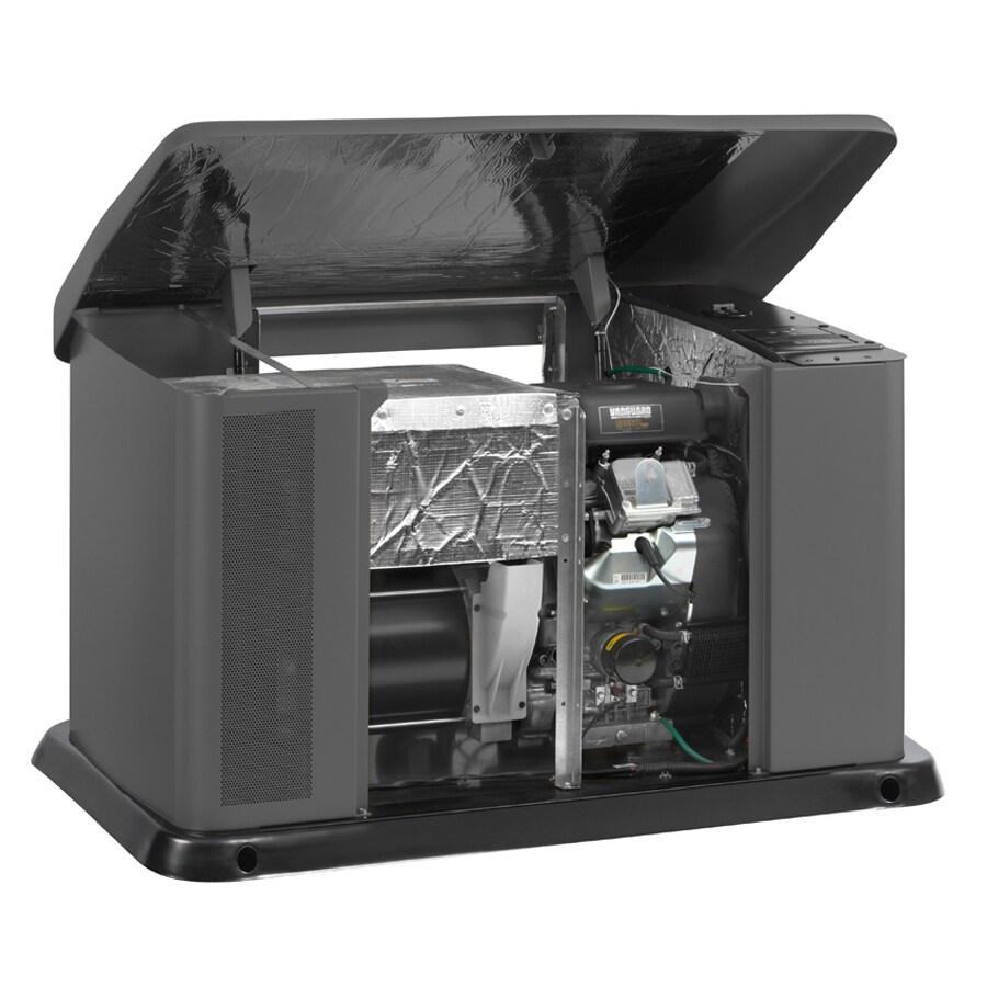 Briggs & Stratton 16000-Watt (LP)/14400-Watt (NG) Standby Generator with Automatic Transfer Switch