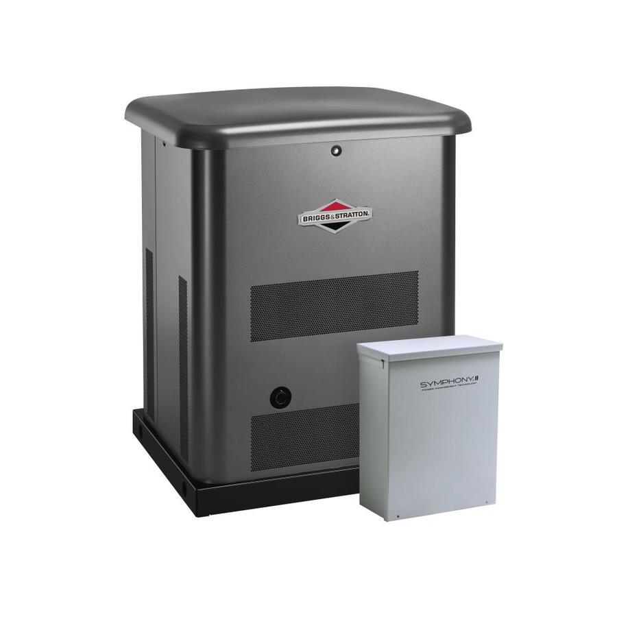 Briggs & Stratton 10000-Watt (LP)/9000-Watt (NG) Standby Generator with Automatic Transfer Switch