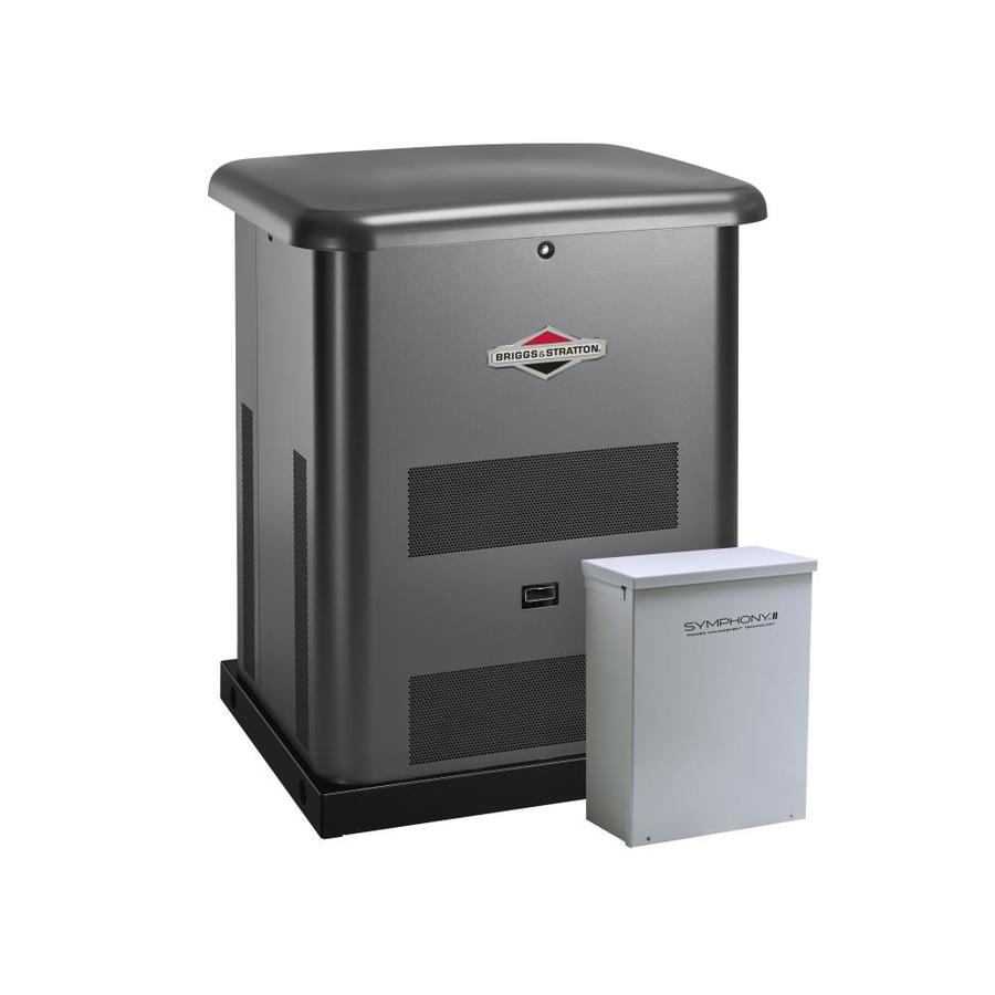 Briggs & Stratton 8000-Watt (LP)/6000-Watt (NG) Standby Generator with Automatic Transfer Switch