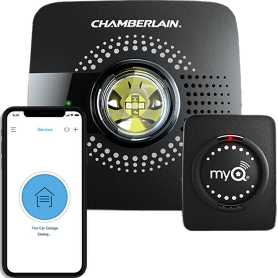 Chamberlain Myq Universal Smart Garage Hub In The Garage Door Opener Parts Accessories Department At Lowes Com